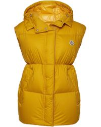 Moncler - Cheveche Down Vest With Hood - Lyst