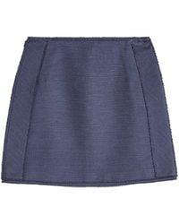 Paule Ka - Cotton Mini Skirt - Lyst