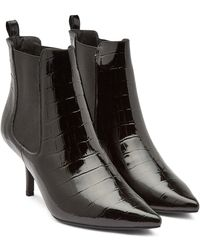 Anine Bing - Women's Stevie Pointed-toe Kitten-heel Booties - Lyst
