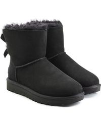 UGG - Mini Bailey Striped Bow-Back Boot - Lyst