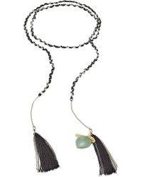 Missoni - Halskette mit Metall, Quasten und Charms - Lyst