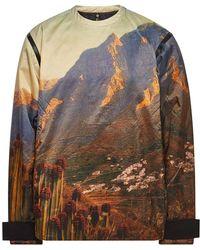 OAMC - Transmission Printed Sweatshirt - Lyst
