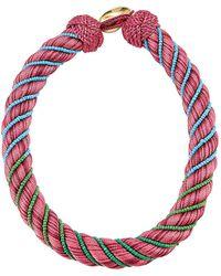 Aurelie Bidermann - Necklace With Glass Beads - Lyst