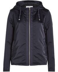 Closed - Comet Bomber Jacket With Hood - Lyst