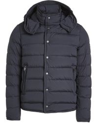 Moncler - Quilted Down Jacket With Hood - Lyst