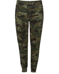 True Religion - Cotton Camouflage Pants - Lyst