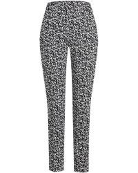 HUGO - Hilbi Printed Cotton Pants - Lyst