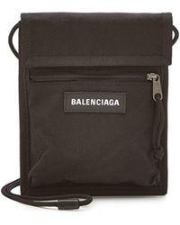 Balenciaga - Explorer Pouch Strap - Lyst