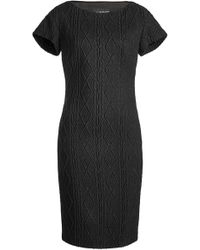 Boutique Moschino - Knit Dress With Wool - Lyst