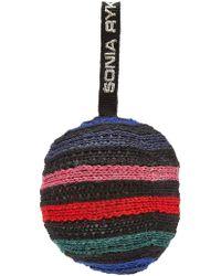 Sonia Rykiel - Virgin Wool Knitted Bauble - Lyst