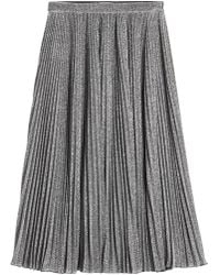 Philosophy Di Lorenzo Serafini - Pleated Midi Skirt - Lyst