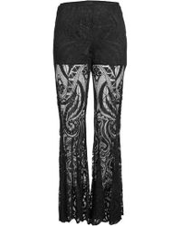 Anna Sui - Lace Flares - Lyst