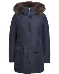 Woolrich - Gtx Arctic Down Parka With Fur-trimmed Hood - Lyst