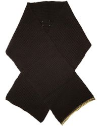 Maison Margiela - Cashmere Scarf With Wool - Lyst