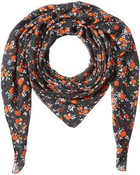The Kooples - Printed Scarf With Silk - Lyst