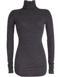 587245faf American Vintage - Turtleneck Top With Cotton - Lyst