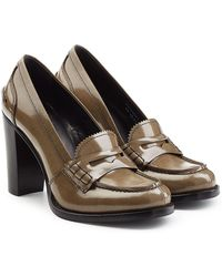 Church's - Patent Leather Loafer Pumps - Lyst