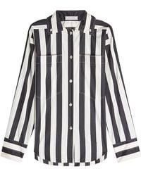 Nina Ricci - Printed Silk Shirt - Lyst