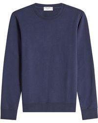 FRAME - Cotton Sweatshirt - Lyst