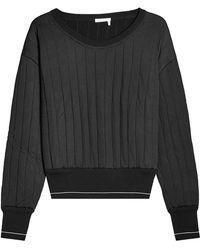 Chloé - Sweatshirt With Virgin Wool - Lyst