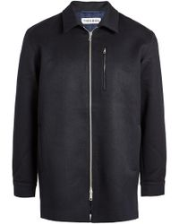 Tres Bien - Wool Coat - Lyst