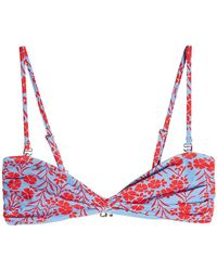 Diane von Furstenberg - Twist Bandeau Bikini Top - Lyst