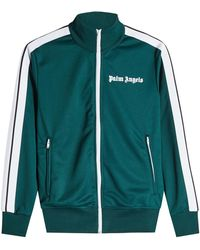 Palm Angels - Zipped Track Top - Lyst