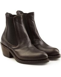 Fiorentini + Baker - Roxy Leather Ankle Boots - Lyst