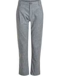 Comme des Garçons - Cropped Wool Pants - Lyst