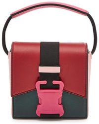 Christopher Kane - Bonnie Colour Block Leather Shoulder Bag - Lyst
