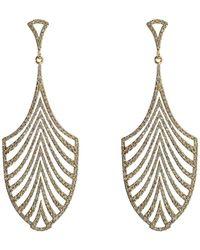Ileana Makri - 18-karat Gold And Diamond Escape Earrings - Lyst