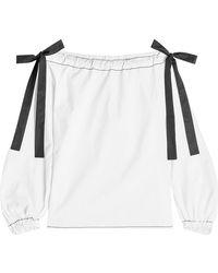 Rejina Pyo - Heidi Off-shoulder Cotton Blouse - Lyst
