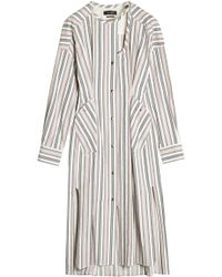 Isabel Marant | Striped Cotton Dress | Lyst