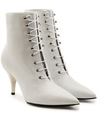 CALVIN KLEIN 205W39NYC - Rosemarie Leather Ankle Boots - Lyst