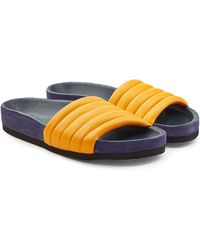 Isabel Marant | Hellea Leather Sandals | Lyst