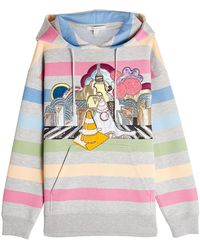 Marc Jacobs - Embellished Hoody With Patches - Lyst