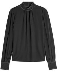 Marc Jacobs | Silk Blouse | Lyst
