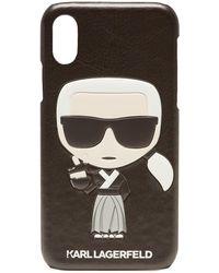 Karl Lagerfeld - Karl X Kaia Gerber Iphone X Case - Lyst