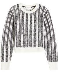 Public School - Pull imprimé avec laine mérinos - Lyst