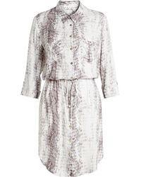 Heidi Klein - Printed Shirt Dress - Lyst