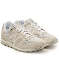 63c934ad7023a Lyst - New Balance 574 Suede Sneakers In Blue in Blue for Men