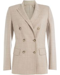 Max Mara - Virgin Wool Blazer - Lyst