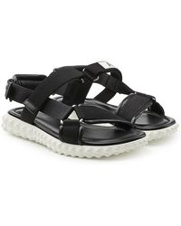 Valentino | Hiking Sandals With Leather | Lyst