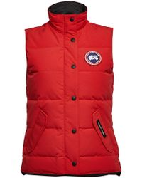 Canada Goose - Freestyle Quilted Down Vest - Lyst