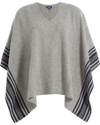 Splendid - Wool-cashmere Poncho - Lyst
