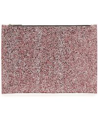 Victoria Beckham - Large Glitter Pouch - Lyst