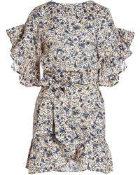 Étoile Isabel Marant - Delicia Printed Linen Dress - Lyst
