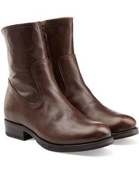 Fiorentini + Baker - Leather Ankle Boots - Brown - Lyst