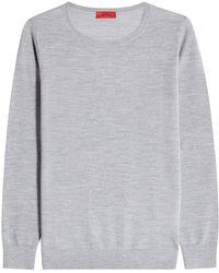 HUGO - Virgin Wool Pullover - Lyst