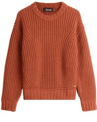DSquared² | Chunky Wool Pullover | Lyst